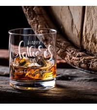 Gepersonaliseerd glas   Whiskeyglas graveren