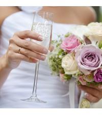 Gepersonaliseerd glas | Champagneglas graveren