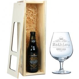 Gepersonaliseerd glas   Speciaalbierpakket gepersonaliseerd