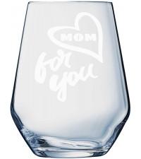 Gepersonaliseerd glas | Waterglas graveren