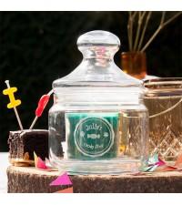 Gepersonaliseerde cadeaus, persoonlijke cadeaus | Kleine snoeppot graveren