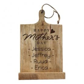Gepersonaliseerd moederdag cadeau | Kookboekstandaard
